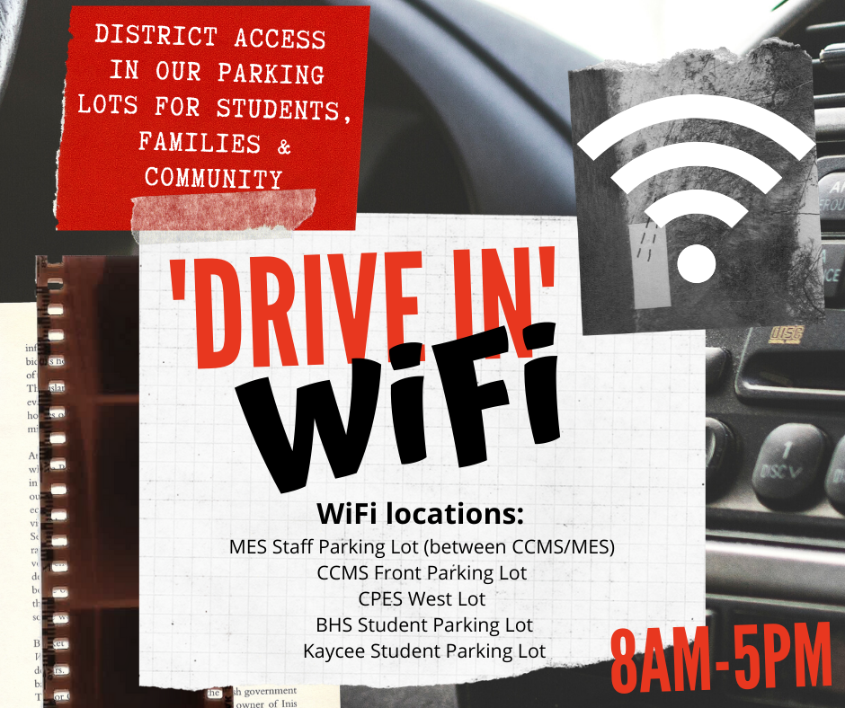 Drive In WiFi Available at BHS